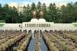 Des troupes du ministère de la sécurité du peuple sont rassemblées à Pyongyang, le 10 août.