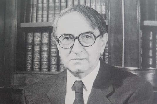 René Chapus, en 1992.