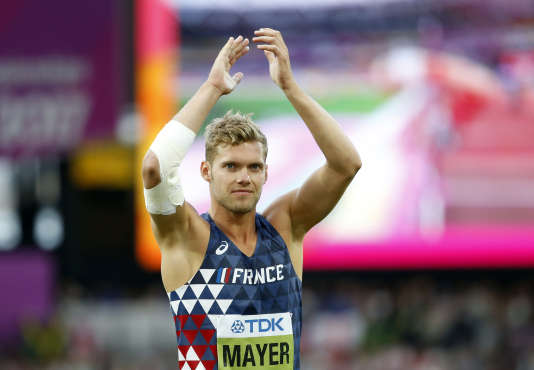 Kevin Mayer, le 12 août.