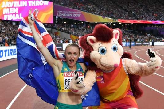 Sally Pearson est championne du monde du 100 m haies.