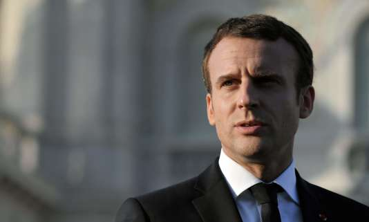 Le président de la République, Emmanuel Macron, le 12juillet 2017 à Trieste.