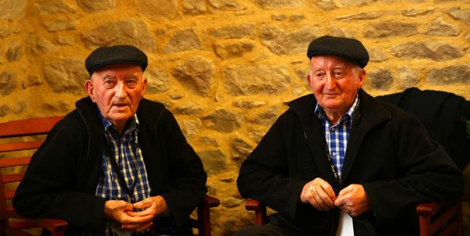 Yvon et Henri Morvan, 82 et 85 ans.
