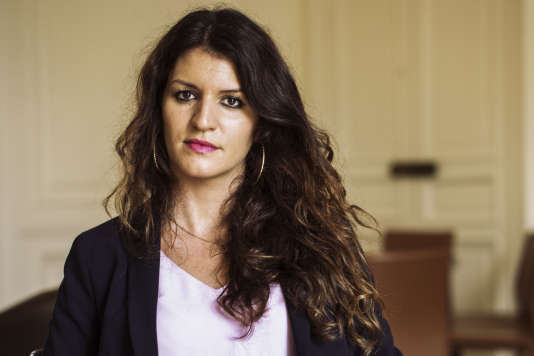 Marlène Schiappa, secrétaire d'Etat chargée de l'égalité entre les femmes et les hommes dans le gouvernement d'Edouard Philippe depuis le 17 mai 2017.