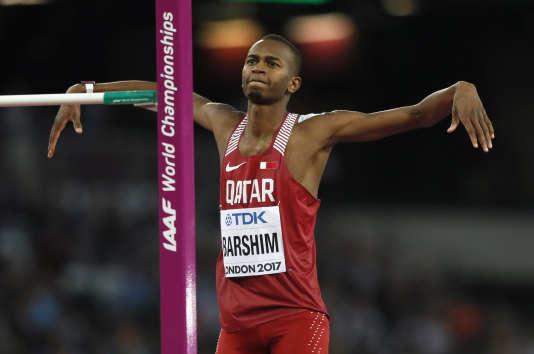 Mutaz Essa Barshim est champion du monde du saut en hauteur.