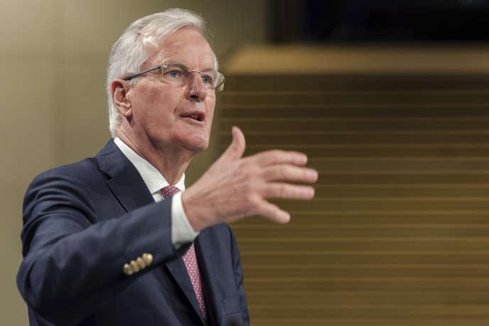 « L'Union à 27 et le Royaume-Uni devront unir leurs forces pour faire face à des menaces communes » (Photo: Michel Barnier à Bruxelles, le 20 juillet 2017).