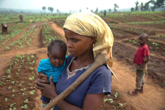 ATshikapa, en République démocratique du Congo, à la fin de juillet 2017.
