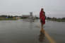 Sur le tarmac de l'aéroport de Janakpur, au Népal, le 13 août.