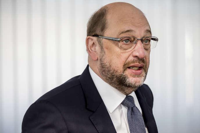 Martin Schulz, à Berlin, le 14 août.