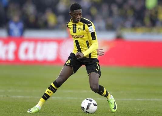 Ousmane Dembélé avait rejoint l'équipe allemande du Borussia Dortmund en 2016.