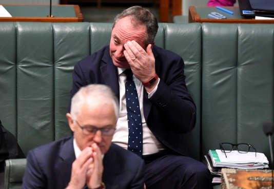 Barnaby Joyce, au Parlement australien à Canberra, le 14 août.