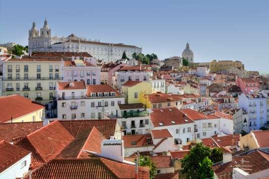 Le quartier de l'Alfama, à Lisbonne.