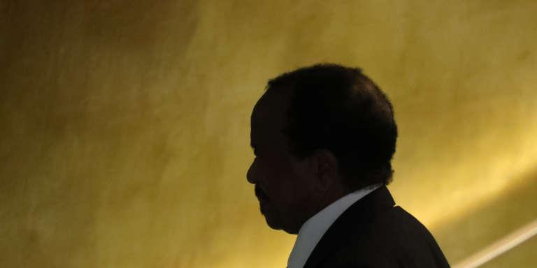 Le président camerounais, Paul Biya, à l'assemblée générale des Nations unies, le 22septembre 2016, à New York.