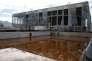 Situé à l'extérieur de la piscine olympique, le bassin d'entraînement, ici en février 2017, a été construit pour les JO de Rio, en 2016.