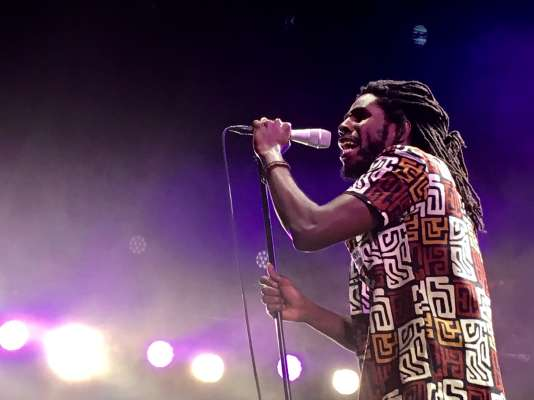 Le chanteur jamaïcain Chronixx.