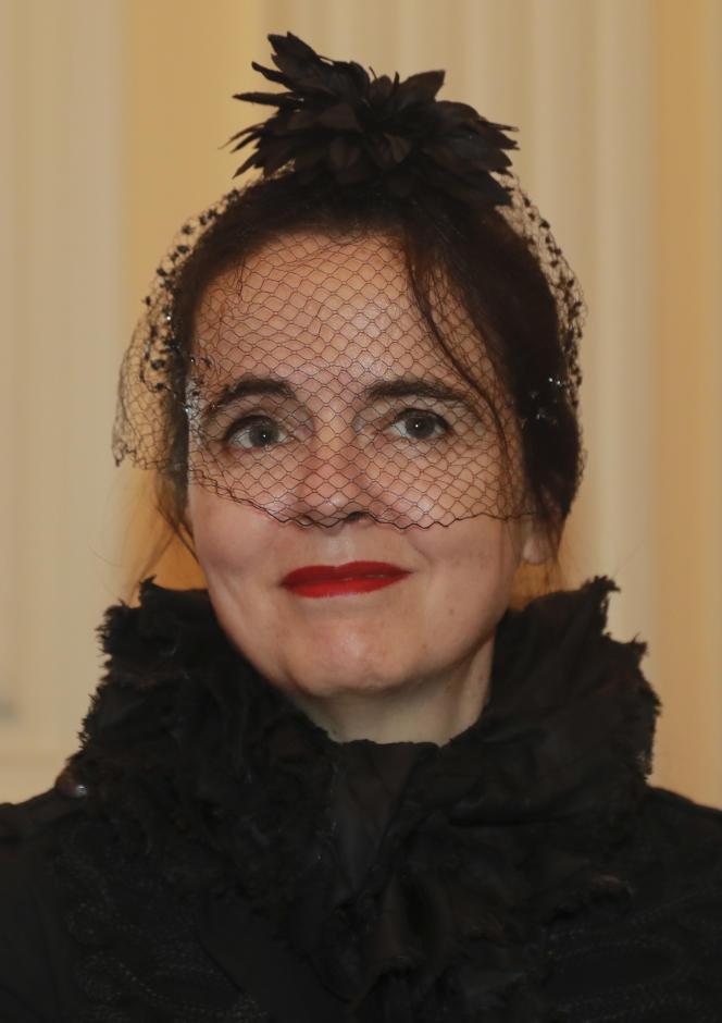 L'écrivaine Amélie Nothomb, en novembre 2016.