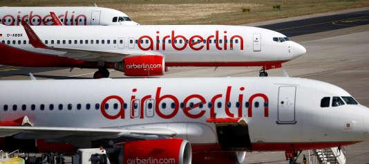 Les avions d'Air Berlin devraient continuer à voler, a annoncé la compagnie allemande.