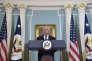 Le secrétaire d'Etat américain, Rex Tillerson, lors de la présentation du rapport annuel sur la liberté religieuse dans le monde, le 15 août 2017, au département d'Etat, à Washington.
