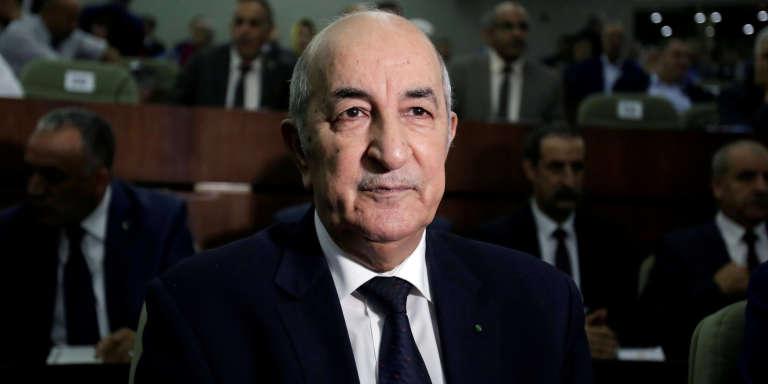 Abdelmadjid Tebboune, à Alger, en juin 2017.