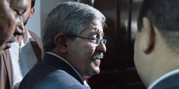 Ahmed Ouyahia, le secrétaire général du Rassemblement national démocratique (RND), à Alger, le 11juin 2017.