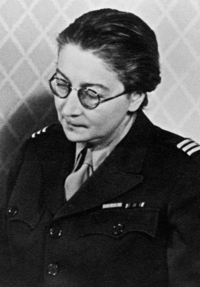 Photo d'archive non datée de Rose Valland (1898-1980). Attachée de conservation des musées nationaux, elle travaillait au Jeu de Paume sous l'Occupation et a fait untravail d'inventaire qui a permis de restituer à leurs propriétaires un grand nombre d'œuvres d'art spoliées par les nazis.