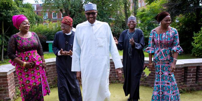 Une photo de Muhammadu Buhari, à Londres, le 12août 2017, diffusée par la présidence nigériane.