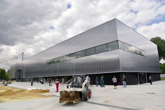 Le centre s'est installé en 2015 dans un bâtiment conçu par l'architecte Rem Koolhaas.