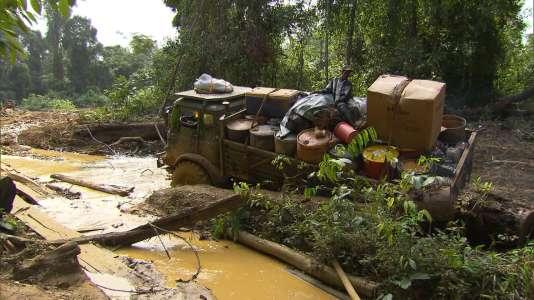 « Les Routes de l'impossible» au Guyana.