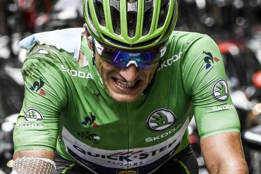 Marcel Kittel, le 16 août lors du Tour de France.