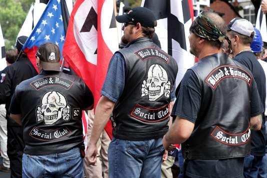 Manifestation des néonazis américains