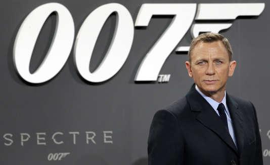 Daniel Craig, en 2015, à la sortie de« Spectre», le dernier James Bond en date.