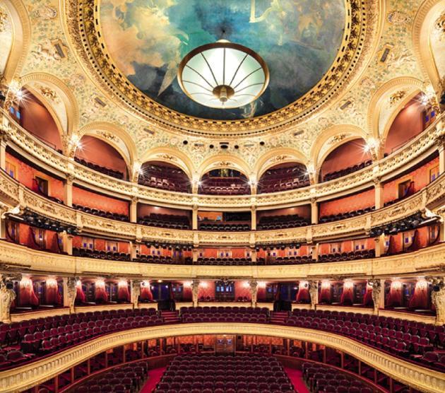 La salle Favart de l'Opéra-Comique.