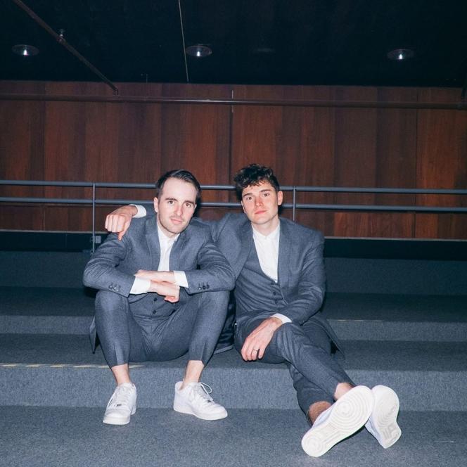 Simon Carpentier (à gauche) et Victor Solf du groupe Her.