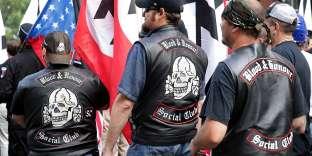 Manifestation des néonazis américains, à Charlottesville, le 12 août.