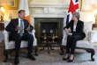 Le premier ministre irlandais, Leo Varadkar, et la première ministre britannique Theresa May à Londres, le 19 juin.