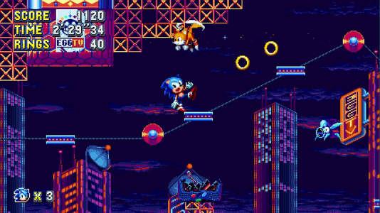Dans« Sonic Mania»,le passé et le présent se rencontrent avec un naturel confondant.