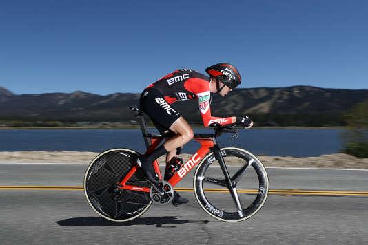 Samuel Sanchez lors du Tour de Californie, en mai.