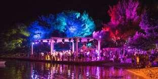 Lors du festival Soundwave, à Tisno (Croatie), fin juillet 2017.