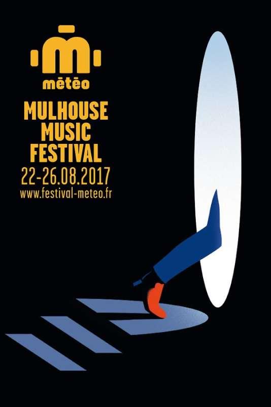 Affiche du festival Météo, à Mulhouse.