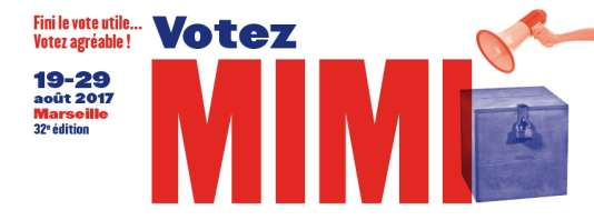 Affiche du festival MIMI, à Marseille.