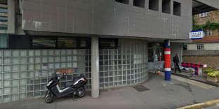 Le commissariat de police d'Arpajon rue Bobin.
