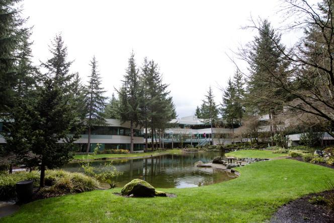 Le «lake Bill» sur le campus de Microsoft à Redmont, dans la banlieue de Seattle.