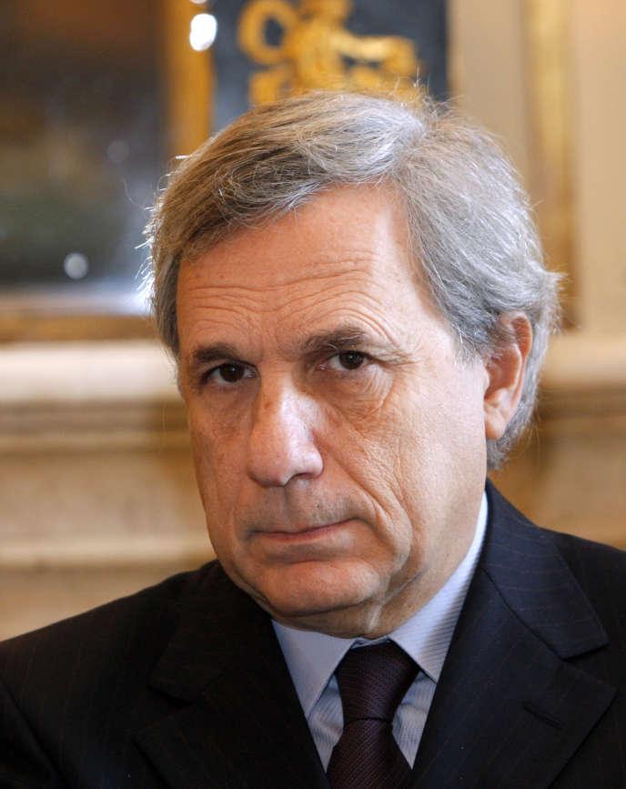 Jean-Marie Colombani, fondateur de «Slate» et ancien directeur du« Monde», en 2009, à Paris.