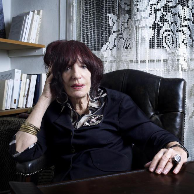L'écrivaine et psychanalysteMarie Depussé en novembre 2011.