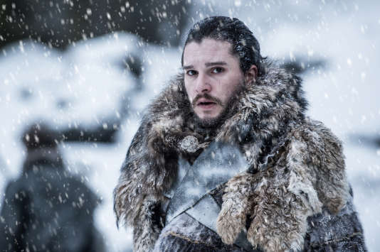 Jon Snow, l'un des personnages principaux de la saga Game of Thrones.