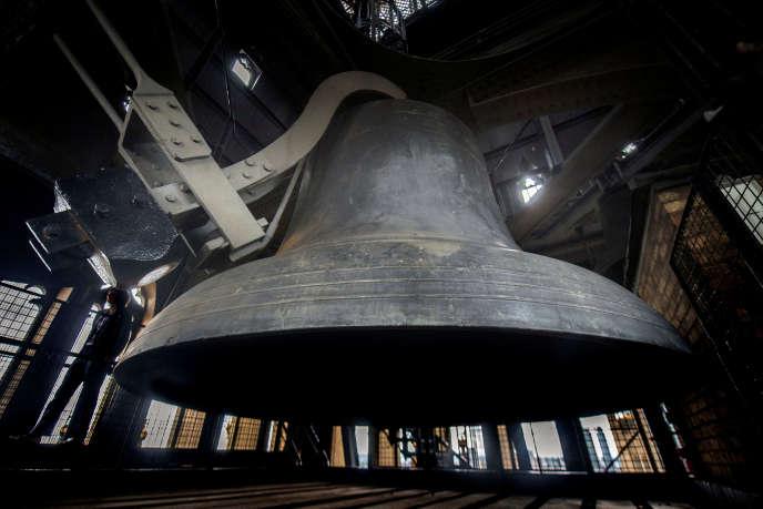 La cloche Big Ben sera retirée pour être nettoyée.