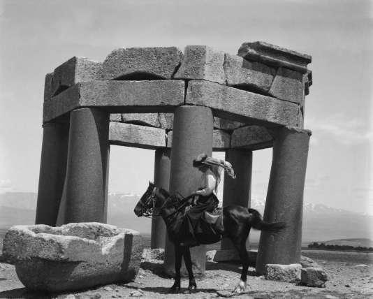 Photo non datée de Gertrude Bell, aventurière et espionne britannique, qui a parcouru l'Irak et ses pays limitrophes pour dessiner les frontières.