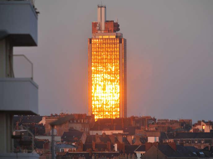 La tour Bretagne, en 2009, à Nantes.