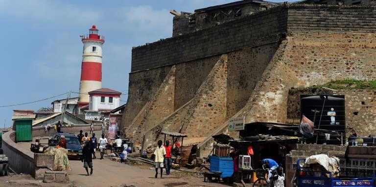 Le phare de Jamestown, à Accra, au Ghana, en juillet 2017.