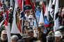 Manifestation de l'extrême droite étatsunienne, le 12 août, à Charlottesville (Virginie).