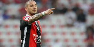 Le Niçois Wesley Sneijder.